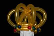 Balloon Hats and Head decorations / by Feestfeest