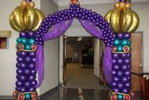 Balloon Arches, Decoration / by Feestfeest