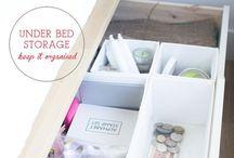 less is MORE / Small Space Living, DIY, reusing, repurposing, inexpensive decor / by Genesis