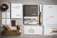 Branding concepts / Branding in allen Formen, Visitenkarten, Advertising, Packing, Business Cards / by MuseumsCafe & Hofladen Zeisset