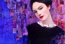 Paintings - women / by Bonnie Moore
