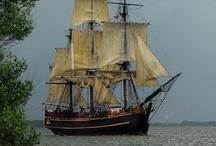 Tall ships/sailing/sailors / by jane jones