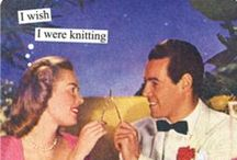 Knit Wit / Knitting humor, cartoons & funny projects / by Chix with Stix (Knitting - Lenoir, NC)