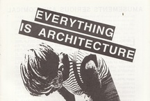 Think Architecture! / An accumulation of architectural illustrations and drawings. / by Roar Lerche