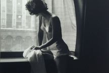 """Lillian Bassman / """"I was interested in developing a method of printing on my own, even before I took photographs,"""" Ms. Bassman told B&W magazine in 1994. """"I wanted everything soft edges and cropped."""" She was interested, she said, in """"creating a new kind of vision aside from what the camera saw.""""  / by Shirin H"""
