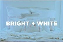 Bright + White / Freshen up your space with these bright ideas. / by Crest