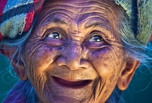 Elderly people / It doesn't matter where you live or how old you are...every smile is precious! :-) / by Alie Hoogenboezem-de Vries