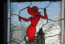 Stained glass people  / by Diane Levesque