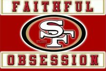 San Francisco 49ers / Love me some Niners! / by Diane Newberry