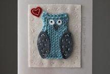 Owls - to Craft, Stitch & Knit / by Fifty Four Ten Studio