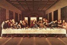 art history: Leonardo Da Vinci & Old Masters / by nancy