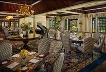 Fairview Dining Room / The Washington Duke Inn & Golf Club's Four Diamond Restaurant.  / by Washington Duke Inn & Golf Club