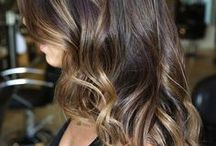Balayage / The very best of the French technique, which gives natural, sun-kissed looking highlights. / by Kate Allen { hairwithkate.com }