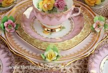GLORIA'S DREAMY DISHES / I love all types of tableware.... / by Gloria Hanna