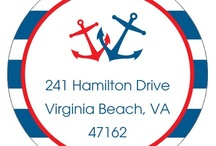 Anchors Away / Personalized nautical party supplies and gifts that we love. / by The Stationery Studio