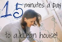 Cleaning/Organization  / by Christy Gunter