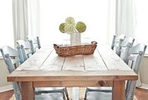 Dining Room / I need a major dining room makeover / by Julie {The Hyper House}