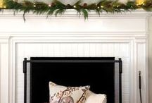 Fireplace Makeover / Our plans include a new fireplace hearth, cleaning the old brick, building a new mantel, and making the new fireplace look pretty. / by Julie {The Hyper House}
