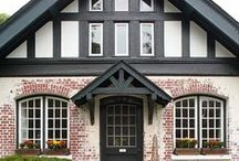 Entry and Exterior of home / by Julie {The Hyper House}