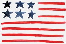 Americana / 4th of July, Red/White/Blue, America, Americana / by Julie {The Hyper House}