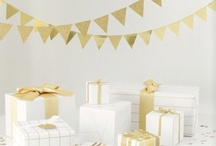 Gold Glam / by Julie {The Hyper House}