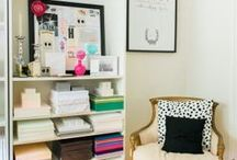 office / by Julie {The Hyper House}