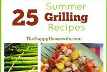 Grilling Recipes / We love to grill and here are some of our favorite grilling recipes.  / by The Happy Housewife