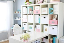 Craft room organisation / by Stampin' Silly with Mel