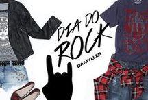 Dia do Rock! Damyller / Para entrar no clima do Dia do Rock, a gente preparou looks cheios de atitude para quem não vive sem o som vibrante das guitarras! Confira o álbum e escolha o estilo que mais combina com você ;) Monte + looks aqui: http://goo.gl/qek0X1 / by Damyller