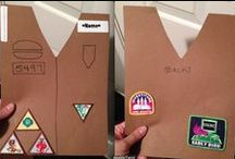 Fun ways to present badges / by American Heritage Girls ~ Leader