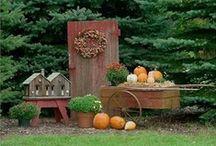 Prim Fall & Autumn Decor-Halloween Decor / by Danielle S