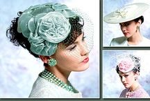 Vintage Hats / vintage and unusual hats, headpieces, and fascinators  / by Bettye Warner