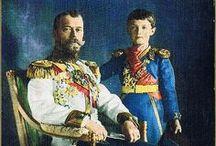History: Russia: Czar Nicholas II / by Charmaine Zoe