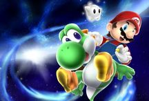 Super Mario galaxy  / by Emily Columb