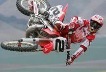 Honda MX-bikes, Honda Riders and Honda Ads...... / The Red Power !!! / by Stephan Rouw