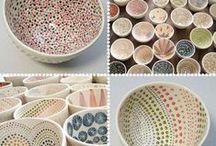 Kerámia-Porcelán-Üveg / by Ibolya Deák