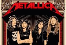 Music/Metallica!! <3 / Music!!!! Rock on!!! \m/ / by Emma Wallace