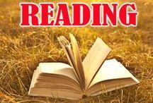 reading / by Gemma Potter