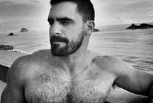 ScruffyFuzz. / Hairy chests are the name of the game.  Fur, fuzz, scruff.  Daddies, bears and cubs, oh my. / by HairyBearfriend