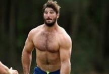 SportyFuzz. / I like some fur on my finely-honed sportsmen.  / by HairyBearfriend