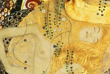 """""""Gustav Klimt"""" / Feel free to pin any pictures from the artist Gustav Klimt. If you want to be invited just follow the board or comment ADD ME on one of the ADD ME Pins. / by Art 9000"""
