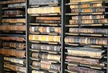 B.W.R. Library / books worth reading, la bibliothèque fantôme / by Mina Mink
