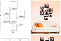Wall decor ideas / by Warren and Jackie Wedding Photography Brown's Photography