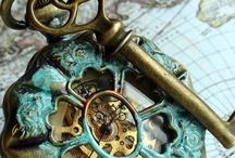 Clocks and Keys / by Susan Mazanowicz