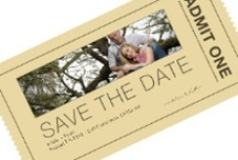 Save the date cards / by Warren and Jackie Wedding Photography Brown's Photography