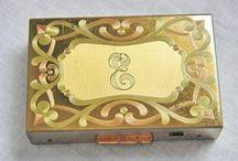 Vintage & Antique compacts & makeup tins / by Joyce Grover-Ellis