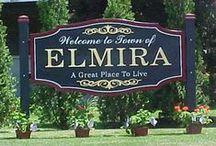 Elmira, New York my hometown  / by Joyce Grover-Ellis