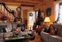 primitive and colonial living rooms / by millie costello