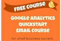 Google Analytics Tips / Tips for small businesses for getting the most out of Google Analytics and focusing on metrics that matter. / by Liz Lockard Marketing Consulting