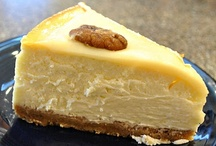 Cheesecake Recipe Inspiration / I'm always looking for inspiration and ideas and recipes! / by The Cupcake Lady (SA)